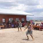 The Masai women and their tribal songs