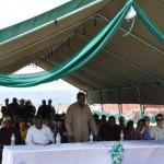 Speaches about eco-tourism in Tanzania